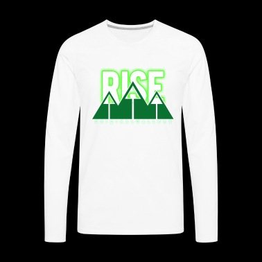 RISE - Men's Premium Long Sleeve T-Shirt