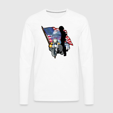Patriotic - Men's Premium Long Sleeve T-Shirt