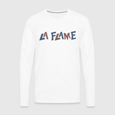 Travi$ Scott La Flame - Men's Premium Long Sleeve T-Shirt