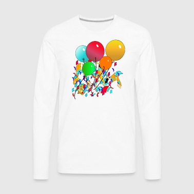 Balloons - Men's Premium Long Sleeve T-Shirt