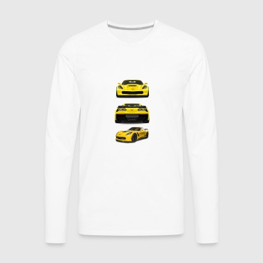 CORVETTE C7 - Men's Premium Long Sleeve T-Shirt