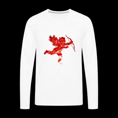 Cute Love Cupido Shirt Gift Idea for men and women - Men's Premium Long Sleeve T-Shirt