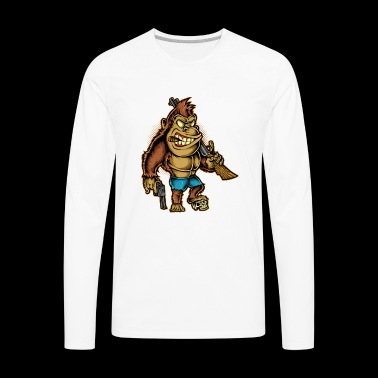 Killer Kong - Men's Premium Long Sleeve T-Shirt