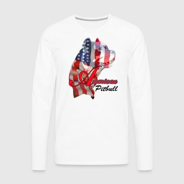 American Pitbull - Men's Premium Long Sleeve T-Shirt