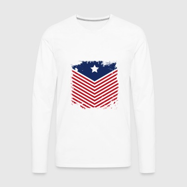 Confederate Flag - Men's Premium Long Sleeve T-Shirt