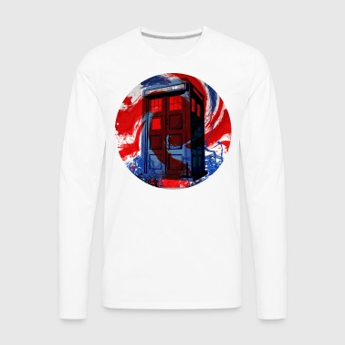I am the Doctor - Union Jack - Men's Premium Long Sleeve T-Shirt