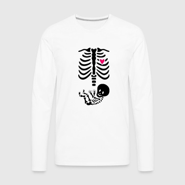 Maternity Skeleton - Men's Premium Long Sleeve T-Shirt