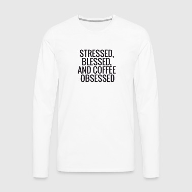 Coffee Addicts - Men's Premium Long Sleeve T-Shirt