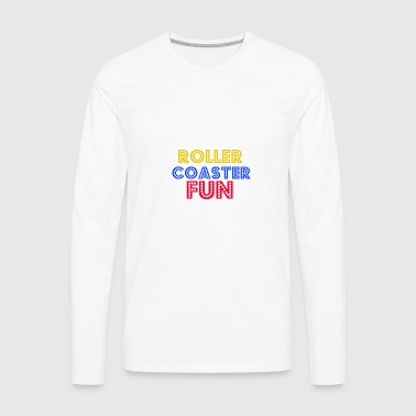 Roller coaster Fun - Men's Premium Long Sleeve T-Shirt