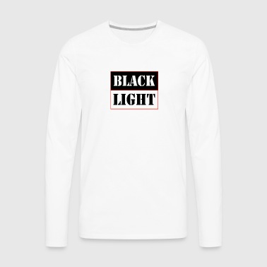 Black light red - Men's Premium Long Sleeve T-Shirt