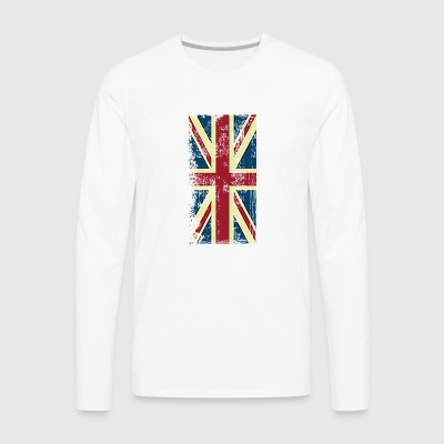 british flag union - Men's Premium Long Sleeve T-Shirt