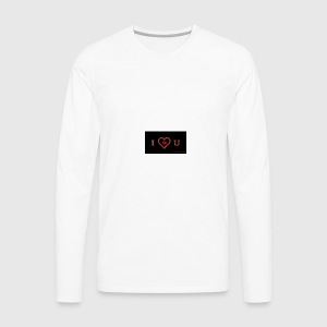 Love you - Men's Premium Long Sleeve T-Shirt