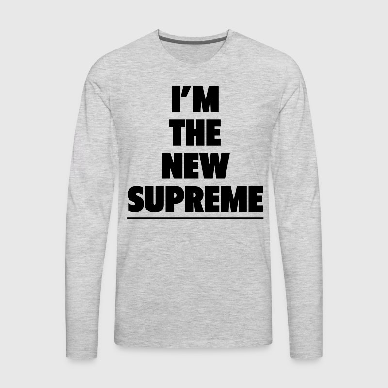 THE NEW SUPREME - Men's Premium Long Sleeve T-Shirt