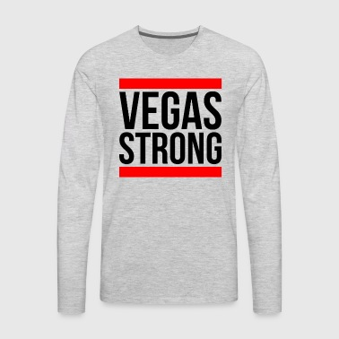 VEGAS STRONG LAS VEGAS - Men's Premium Long Sleeve T-Shirt
