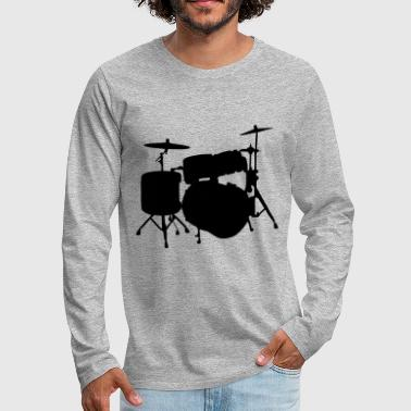 Drums - Men's Premium Long Sleeve T-Shirt
