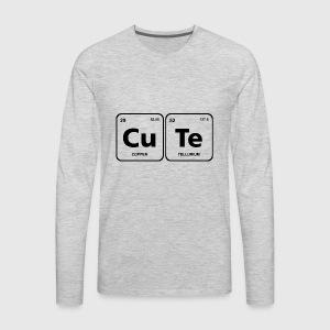 Cute periodic table element geek nerd chemistry by fancyteedesigns mens premium long sleeve t shirt urtaz Images