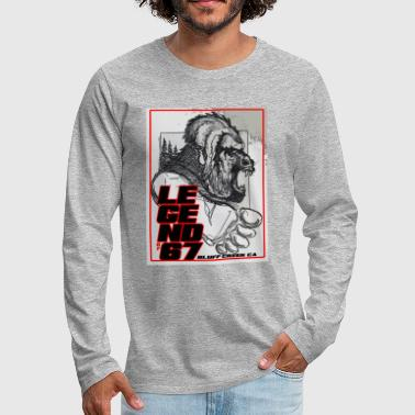 LEGEND of 67 Original - Men's Premium Long Sleeve T-Shirt
