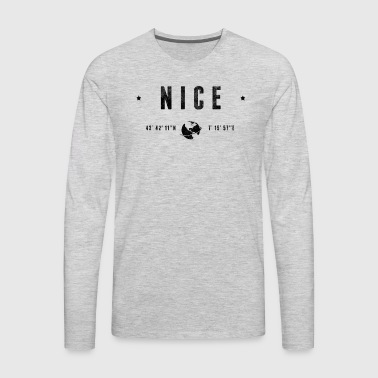 Nice - Men's Premium Long Sleeve T-Shirt