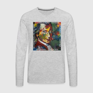 Mozart - Men's Premium Long Sleeve T-Shirt