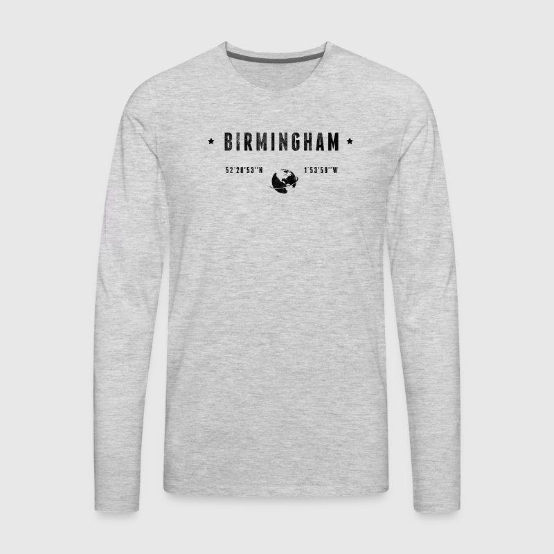 Birmingham - Men's Premium Long Sleeve T-Shirt