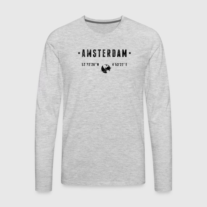 Amsterdam - Men's Premium Long Sleeve T-Shirt
