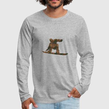 Rust Snowboarding - Men's Premium Long Sleeve T-Shirt