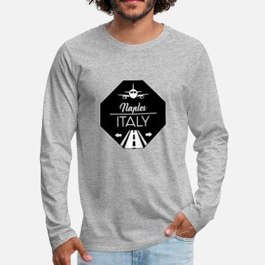 Naples Naples Italy - Men's Premium Long Sleeve T-Shirt