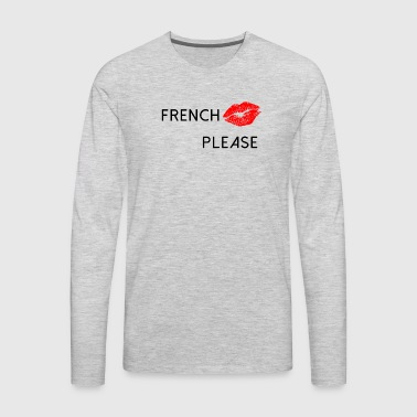 French Kiss - Men's Premium Long Sleeve T-Shirt