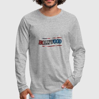 Hollywood Hollywood - Men's Premium Long Sleeve T-Shirt