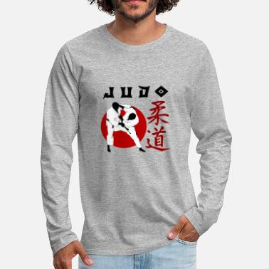 Judo judo black - Men's Premium Long Sleeve T-Shirt