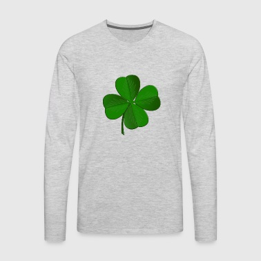 Shamrock - Men's Premium Long Sleeve T-Shirt
