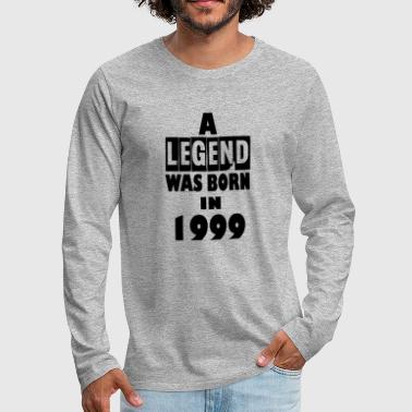 1999 1999 - Men's Premium Long Sleeve T-Shirt