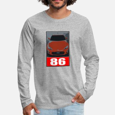 Toyota 86 Toyota - Men's Premium Long Sleeve T-Shirt