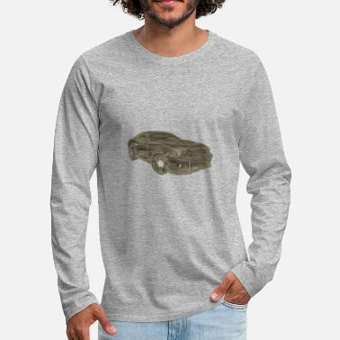 Mustang sports car - Men's Premium Long Sleeve T-Shirt