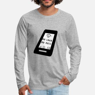 Mobile Phone Mobile PHONE - Men's Premium Long Sleeve T-Shirt