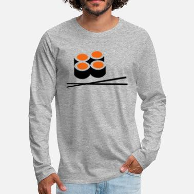 Sushi sushi - Men's Premium Long Sleeve T-Shirt