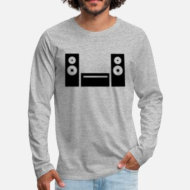 Hifi Hifi icon - Men's Premium Longsleeve Shirt