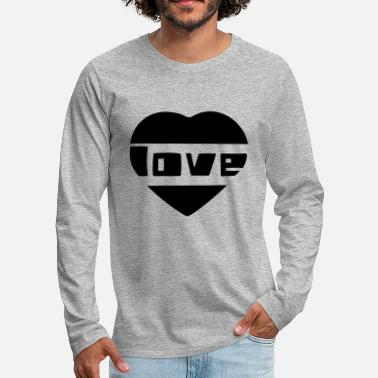 Love With Heart love with heart - Men's Premium Longsleeve Shirt
