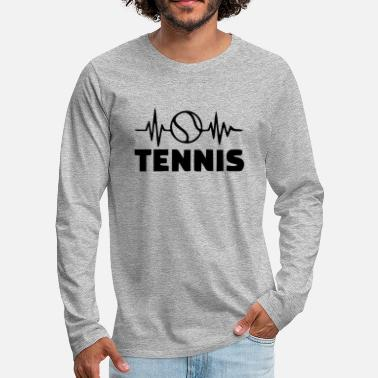 Tennis Ball tennis ball - Men's Premium Longsleeve Shirt