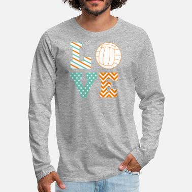 Volleyball Player volleyball - Men's Premium Long Sleeve T-Shirt