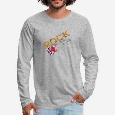 Rock Guitar Rock Guitar - Men's Premium Long Sleeve T-Shirt