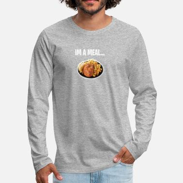 Meal im a meal - Men's Premium Long Sleeve T-Shirt
