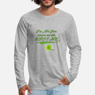 Irish Bar Not Irish - Men's Premium Longsleeve Shirt
