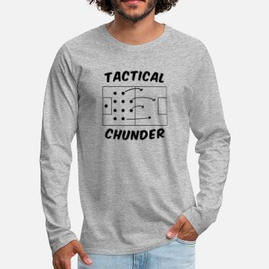 Tactical Tactical Chunder - Men's Premium Long Sleeve T-Shirt