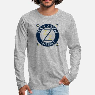 Funny Gym Team Zissou Costume - Men's Premium Long Sleeve T-Shirt