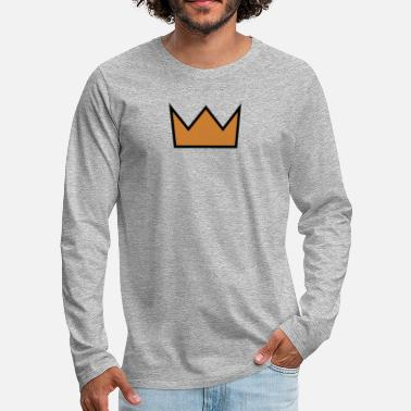Crown the crown - Men's Premium Long Sleeve T-Shirt
