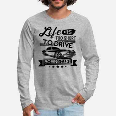 Muscle Muscle Car Lovers Shirt - Men's Premium Longsleeve Shirt