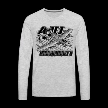 A-10 Thunderbolt II - Men's Premium Long Sleeve T-Shirt