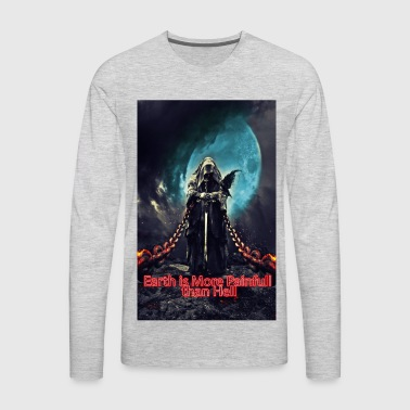 earth hell - Men's Premium Long Sleeve T-Shirt