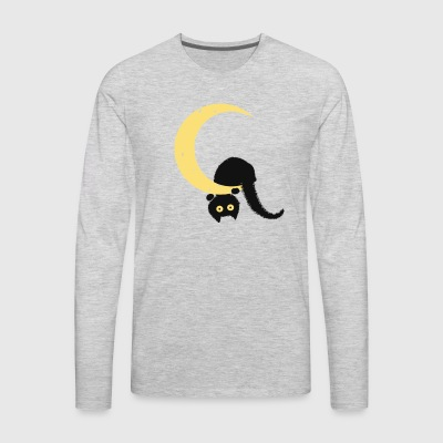 Crescent Moon - Men's Premium Long Sleeve T-Shirt